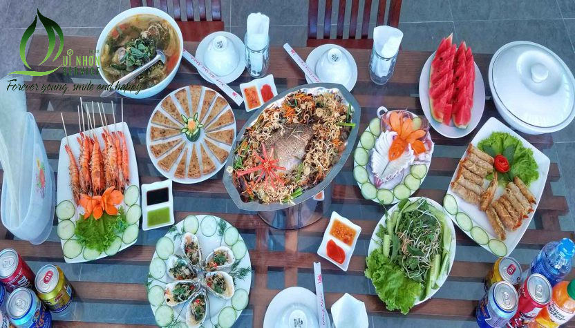 Hải sản tươi sống Cù Lao Xanh Quy Nhơn