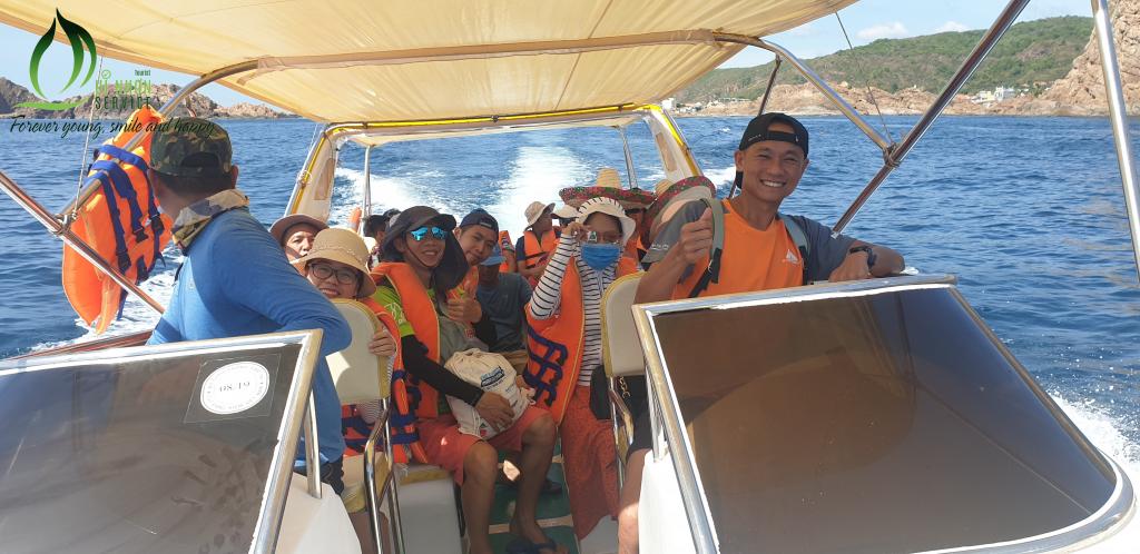 Canoe đi Hòn Khô