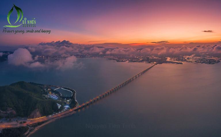 Cầu Thị Nại - cây cầu vượt biển dài nhất Việt Nam