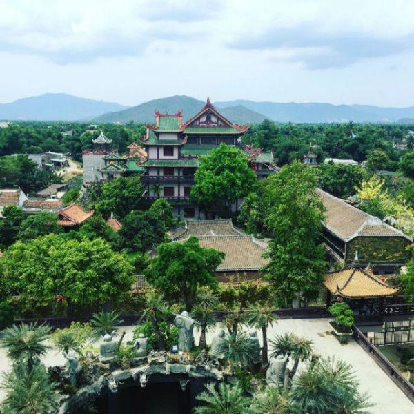 Thien Hung Pagoda - Martial arts land tour