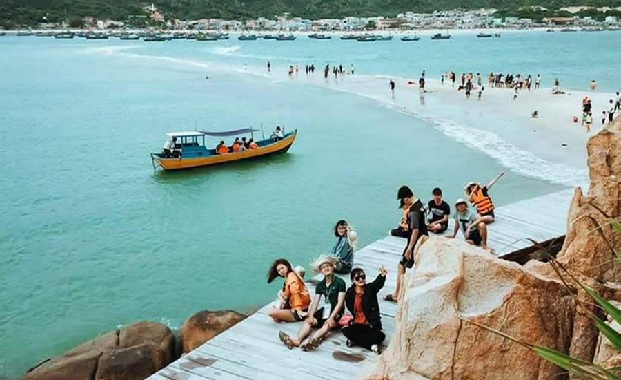 Hòn Khô Quy Nhơn - Tour Hòn Khô Eo Gió