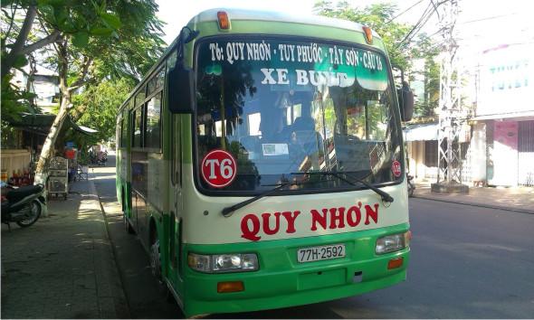 xe buýt quy nhơn