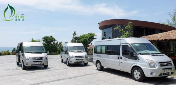 Price list for renting a car of 16 seats Quy Nhon