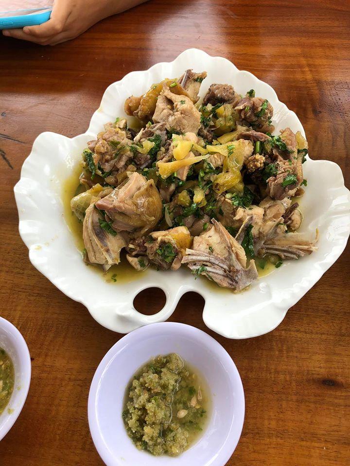 Chicken Stewed