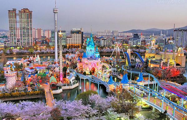 Công viên giải trí Everland Tour Hàn Quốc