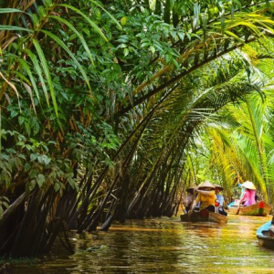 Canoeing Ben Tre - Western Tour 4 Days 3 Nights