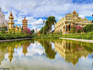 Vinh Trang Pagoda - Western Tour 4 Days 3 Nights