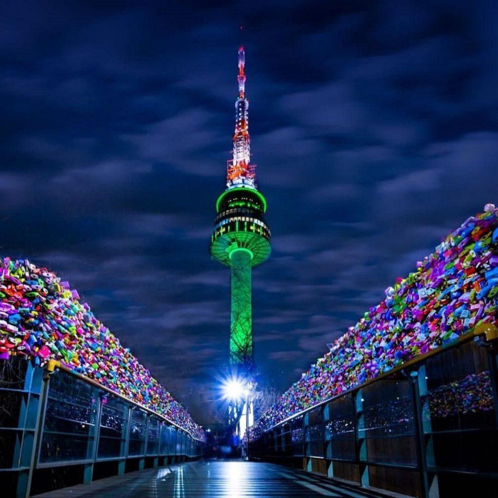 Tháp Truyền Hình Seoul - Tour Hàn Quốc Từ Đà Nẵng