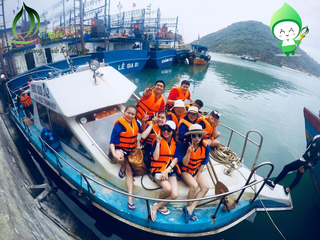 Canoe đi Vũng Bồi