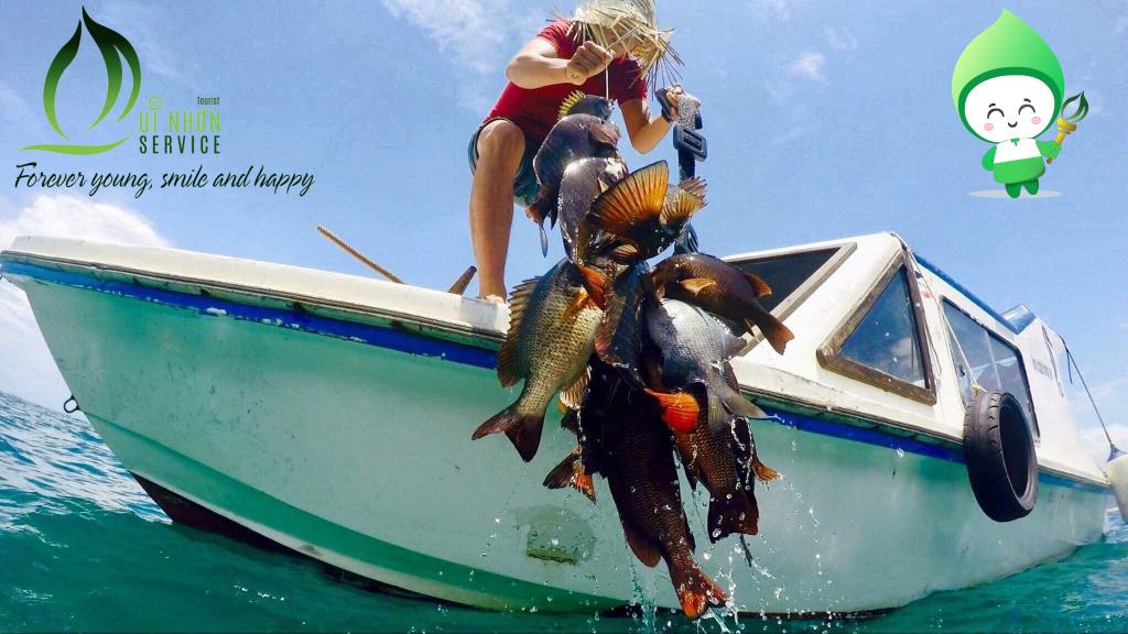 Cá về đầy khoang - tour Vũng Bồi Đề Gi