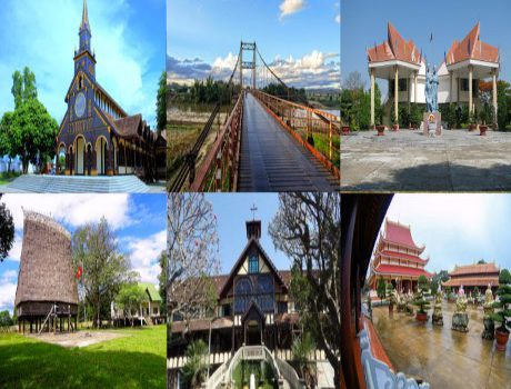 Khám phá thành phố Kon Tum qua 7 địa điểm du lịch nổi tiếng nhất