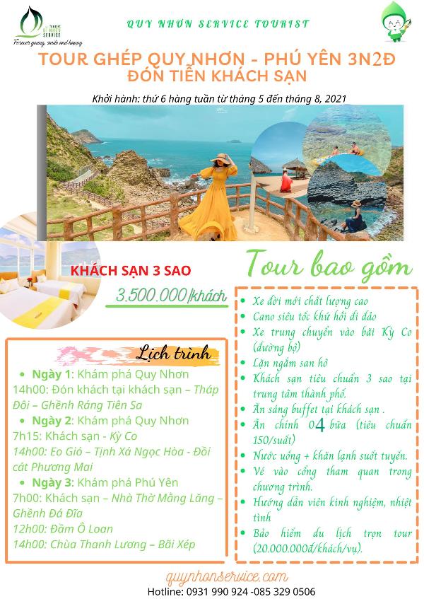 Tour ghép Quy Nhơn 2021